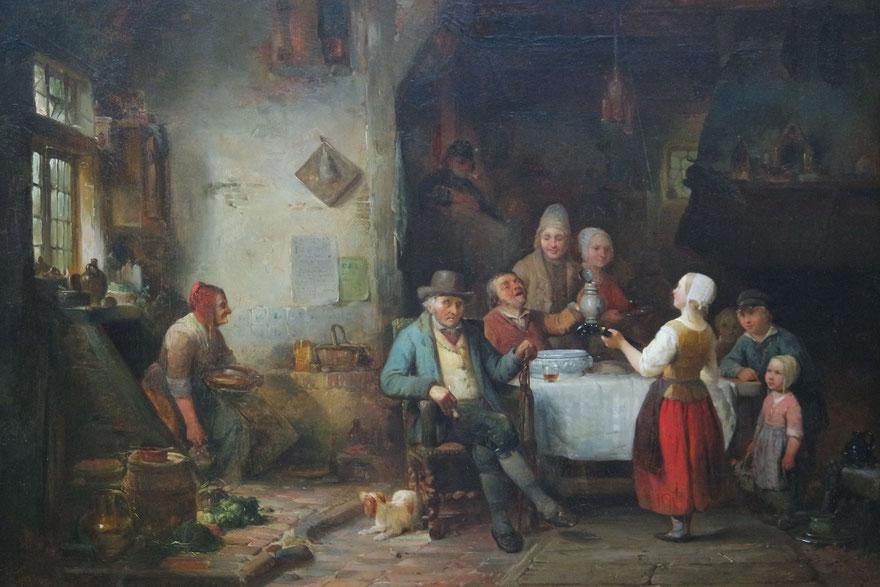 te_koop_aangeboden_een_schilderij_van_de_kunstschilder_petrus_marius_molijn_1819-1849