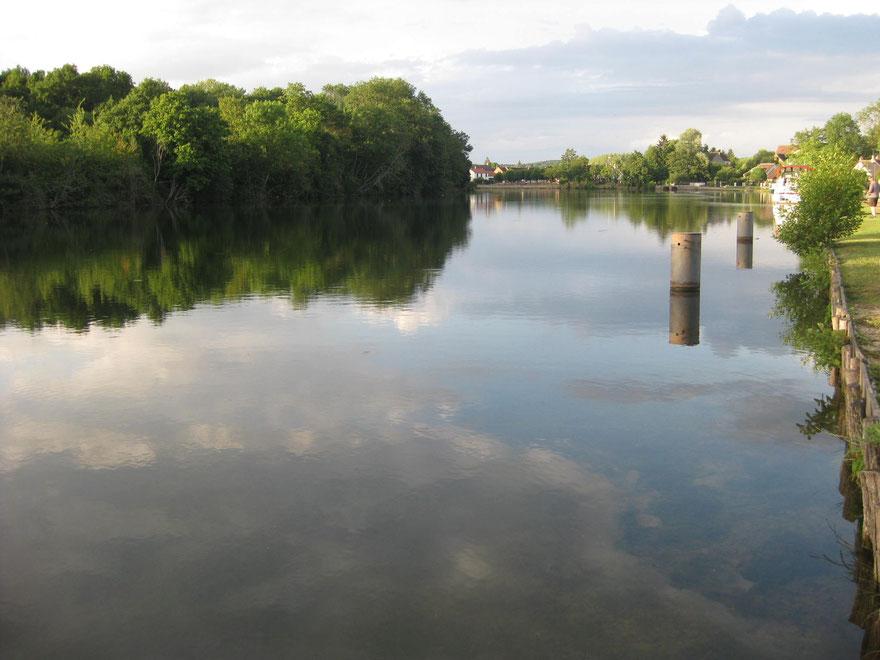 An der Yonne in Frankreich