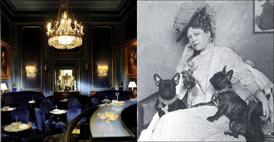 Die Blaue Bar im Hotel Sacher (mit freundl. Genehmigung des Hotels Sacher / Anna Sacher Madame d'Ora Lizenz: Gemeinfrei