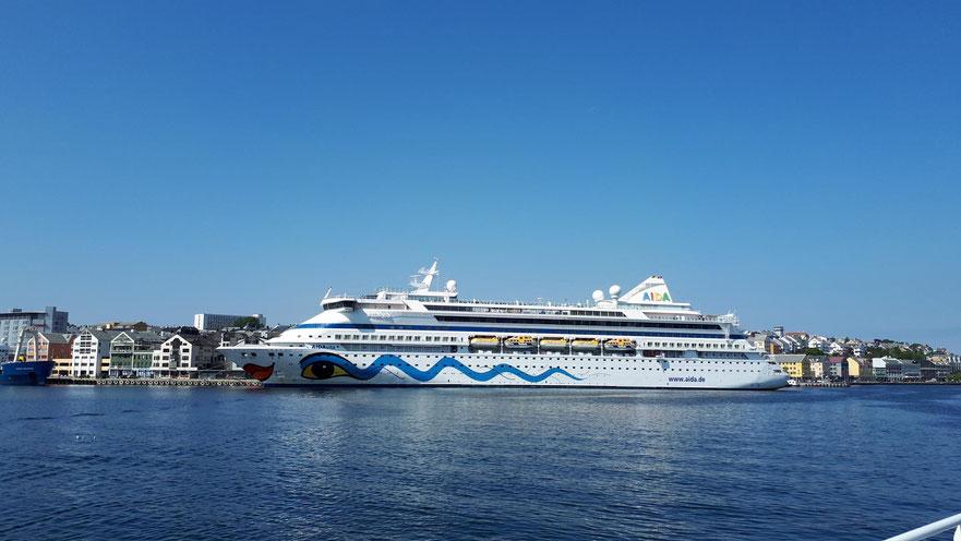 AIDAvita in Kristiansund