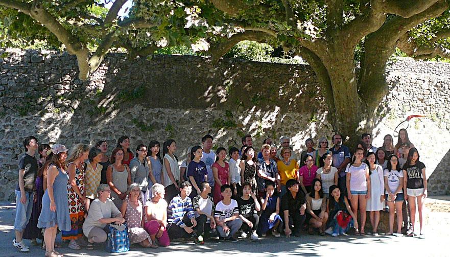 L'ensemble des participants à la fête de l'Alto 2016