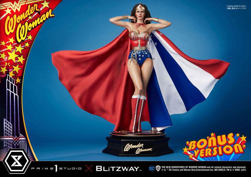 Wonder Woman (Lynda Carter) Bonus Version 1/3 Wonder Woman 1975 DC Statue 69cm Prime 1 Studio