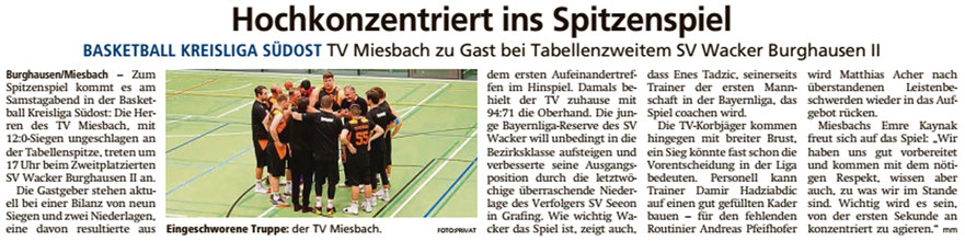 Artikel im Miesbacher Merkur am 22.2.2020 - Zum Vergrößern klicken