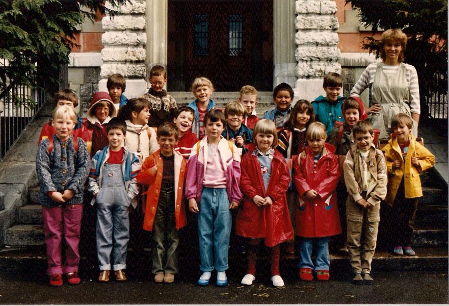 1. Schultag Mai 1985 Klasse Brienz