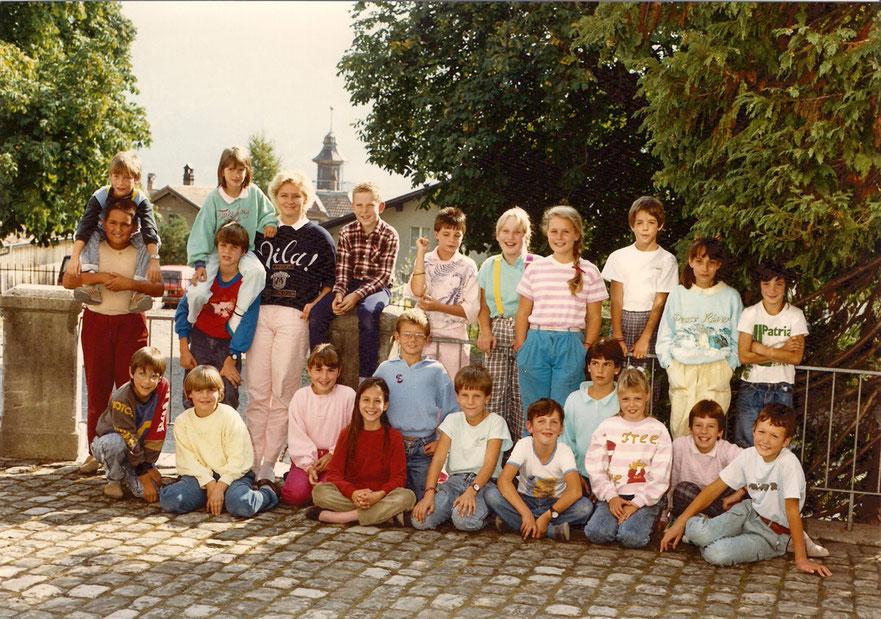 4. Klasse 1988 Klasse Brienz