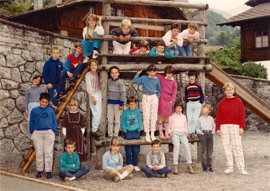 3. Klasse 1987 Klasse Brienz