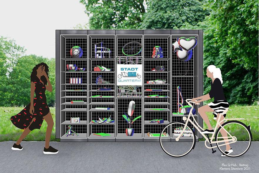Das Flex Q-Hub Design von Klemens Sitzmann