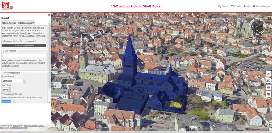 3D WebGIS Gallery - virtualcityCLOUD