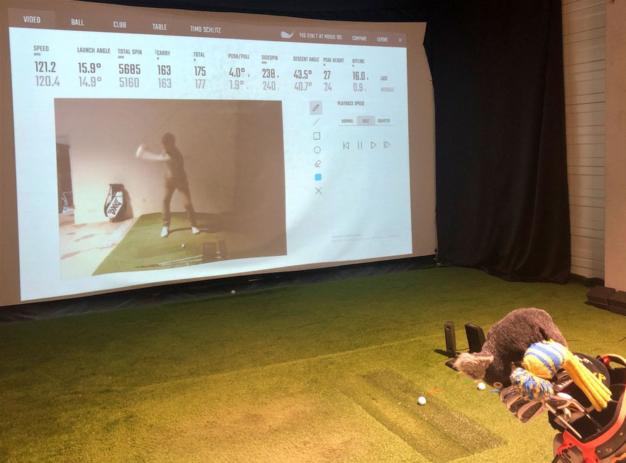Datengetrieben: Golf Fitting mit Launch-Monitor