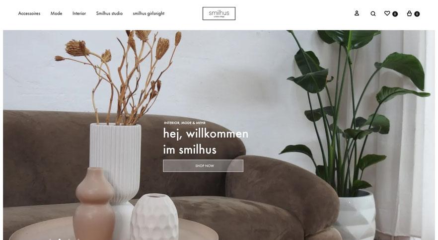 Zierat und smilhus Online-Shop