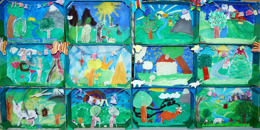 Fruhling Im Kunstunterricht In Der Grundschule 136s Webseite