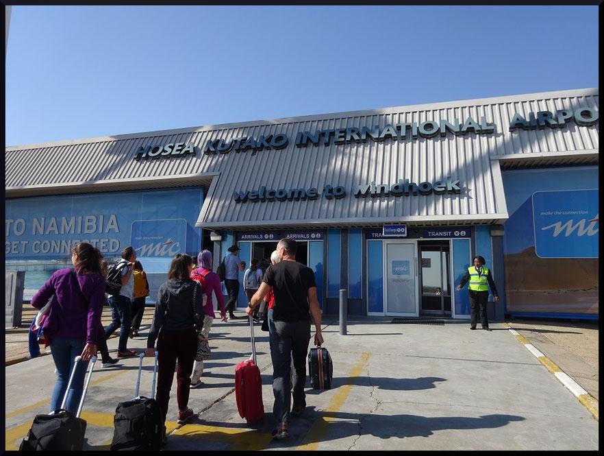 Aéroport international Hosea Kutako de Windhoek