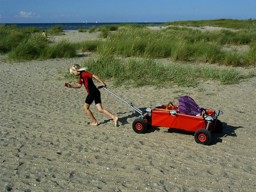 ulfBo - der geniale Bollerwagen für den Strand