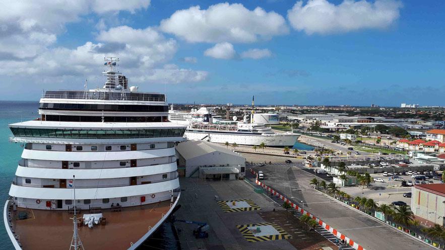Terminal in Oranjestad