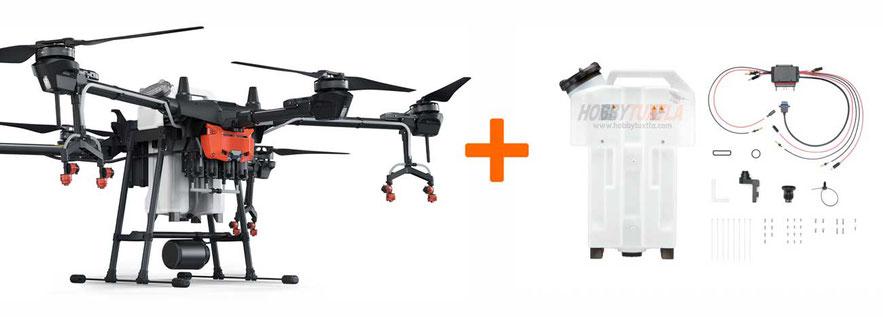 Sistema de actualización Agras T16 a 20 litros, adquiere el mejor dron fumigador de 20 litros Agras T16 Agras T20 en Hobbytuxtla