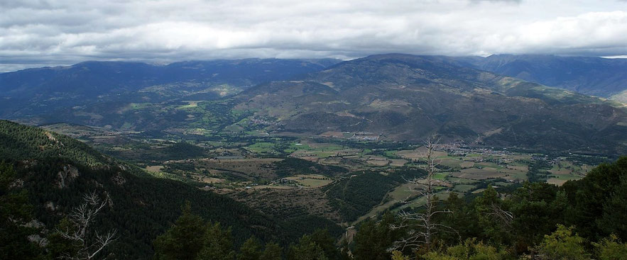 Vista des del mirador de Cap del Ras