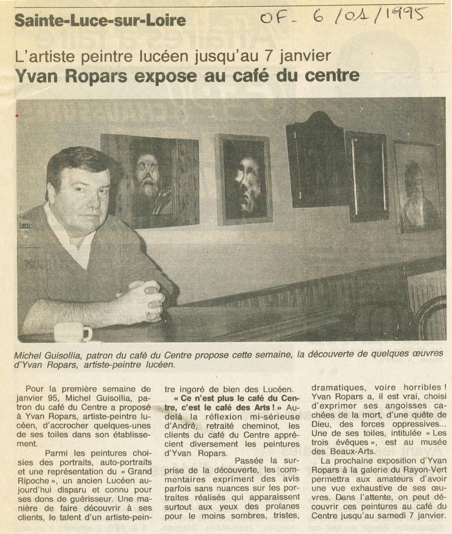 Ouest-France 6 janvier 1995