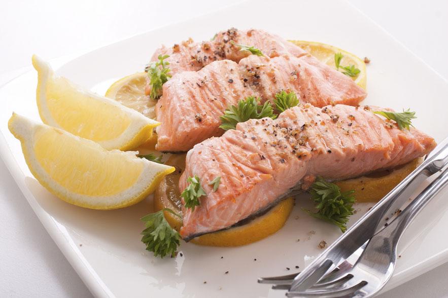 Omega-3-Foods, Lachs, Omega-Eating, Praxis Dr. Matthias Marquardt