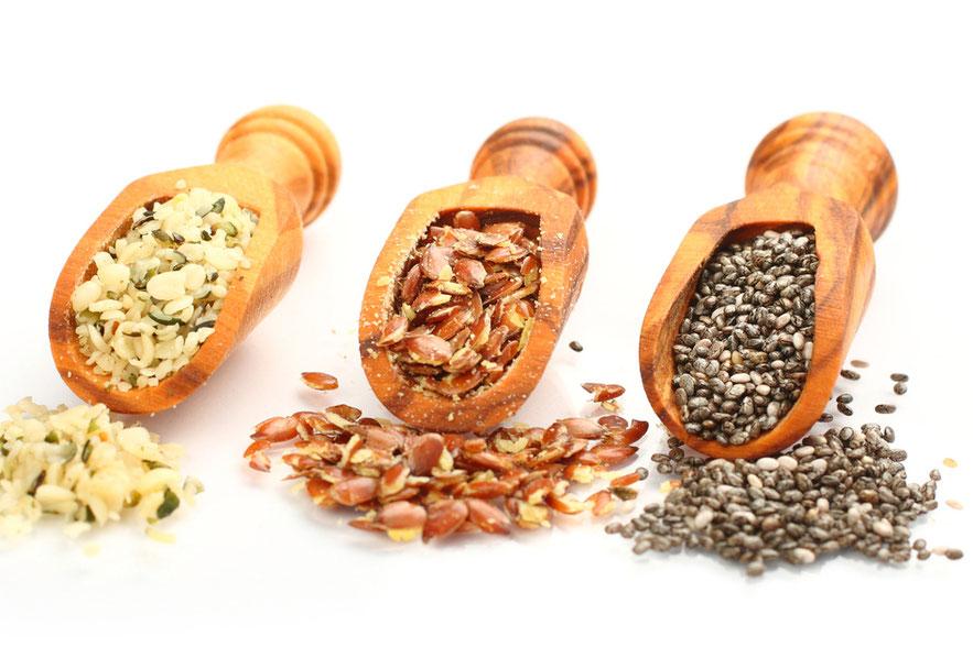 Omega-3-Foods, Samen, Omega-Eating, Praxis Dr. Matthias Marquardt