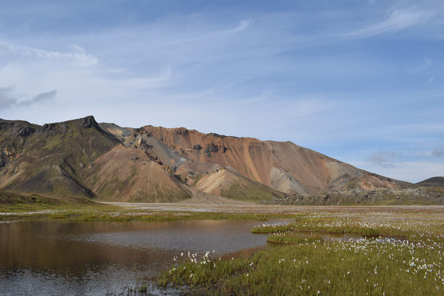 Vondugil - day hikes from Landmannalaugar