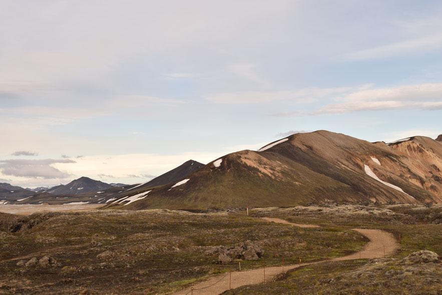 Landmannalaugar short hike Laugahringur