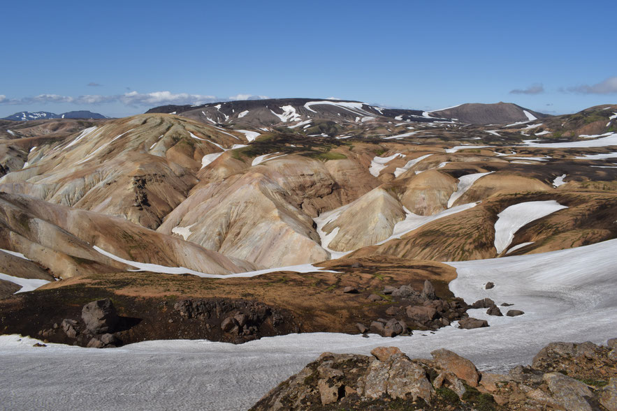 South of Landmannalaugar on the Laugavegur