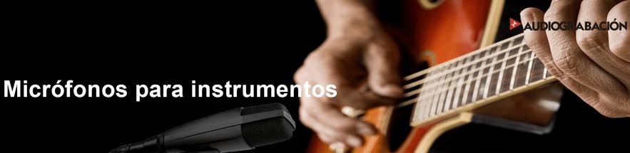 micrófonos, instrumentos, shure, micrófonos para instrumentos