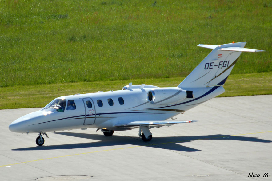 Cessna 525 CitationJet (OE-FGI)