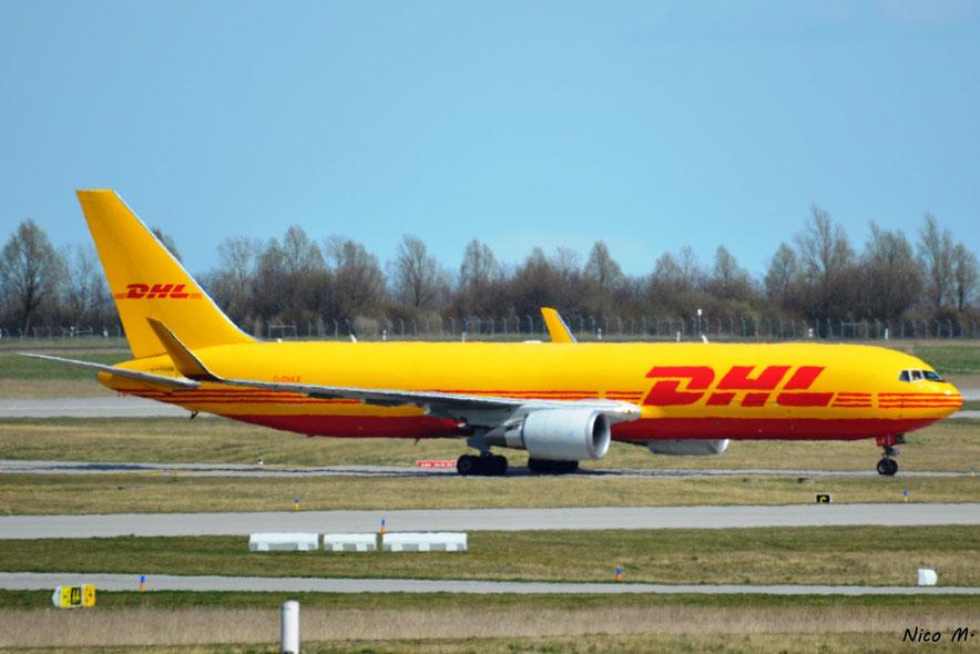B767-200F (G-DHLE)
