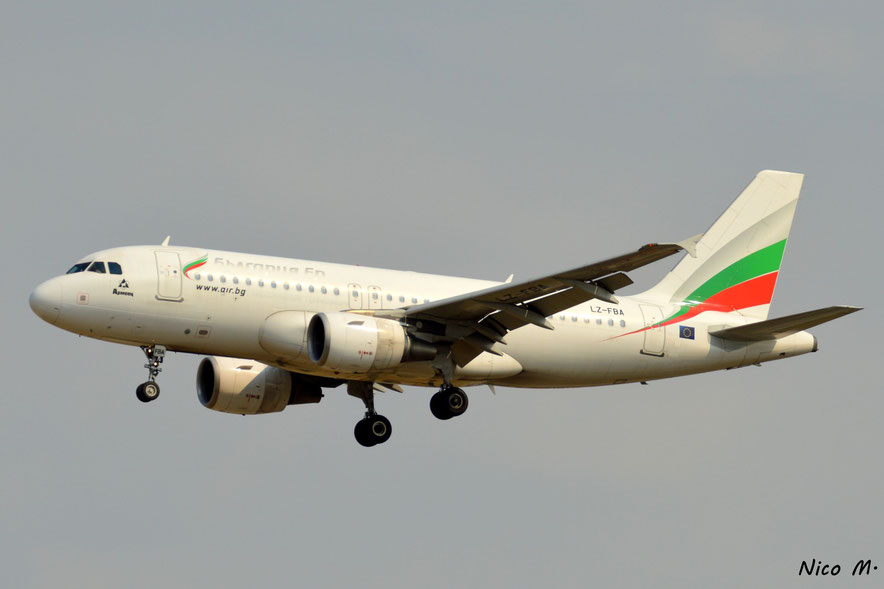 A319-100 (LZ-FBA)