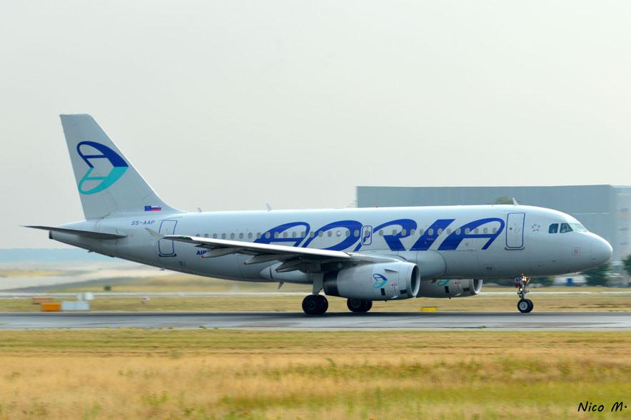 A319-100 (S5-AAP)
