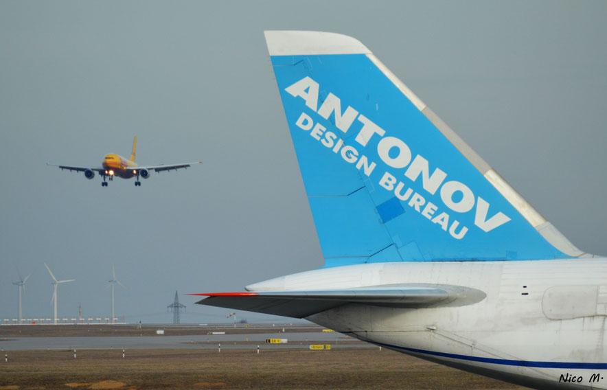 A300 von DHL im Anflug