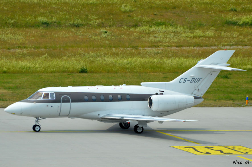 Hawker Beechcraft 750 (CS-DUF)