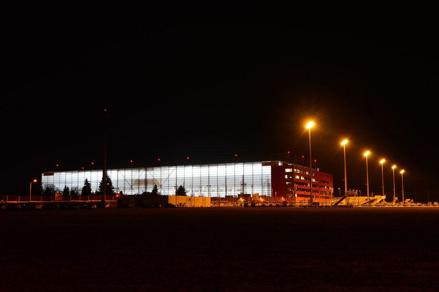 DHL-Hangar und Apron 4