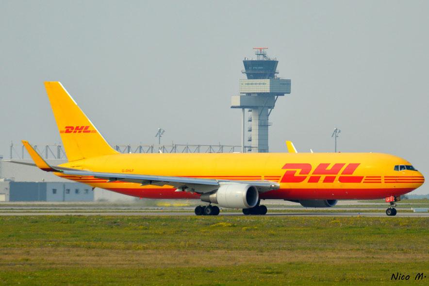 B767-200F (G-DHLF)