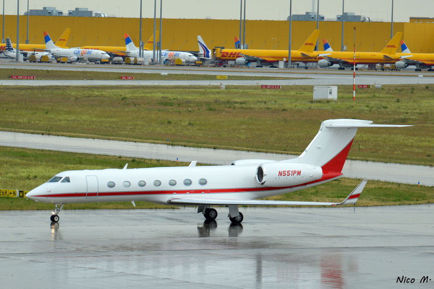 Gulfstream G550 (N551PM)