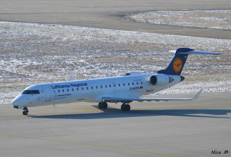 CRJ700 (D-ACPR) der Lufthansa Regional