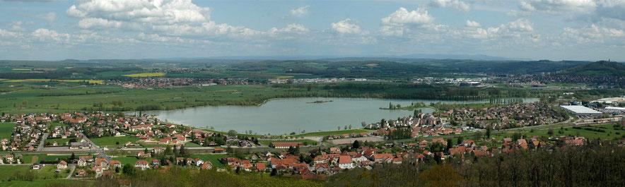 Le lac Vaivre et Montoille