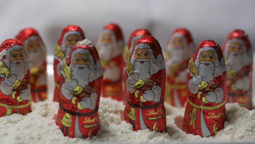 Heute war der Nikolaus da