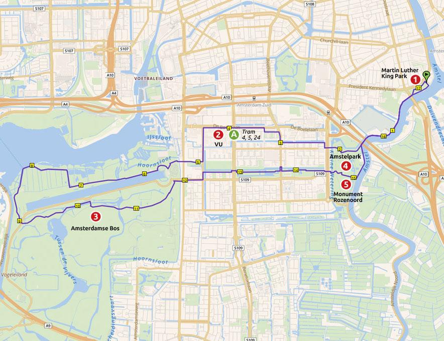 Runnermaps.nl, route 148361