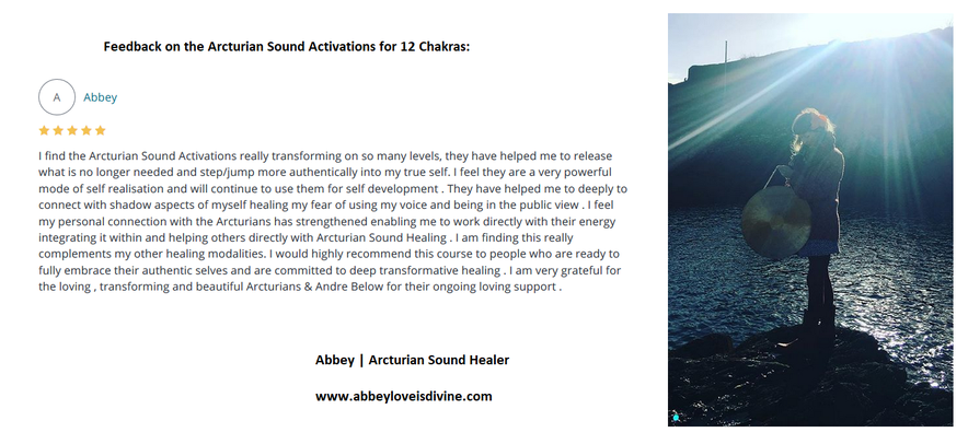 Sound Activations for 12 Chakras - Andre Below, The Dream Shaman