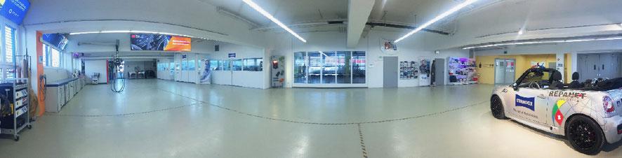 Le centre d'information André Koch SA à Urdorf bénéficie d'une infrastructure des plus modernes.