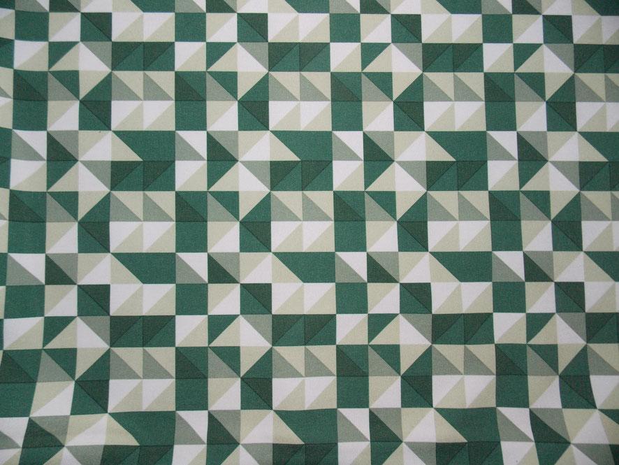 Gemusterter, grüner Softshell