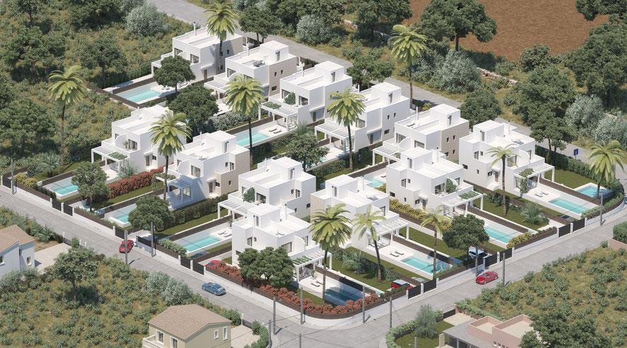 Unser Katalog zeigt die neuesten Mallorca Neubau Immobilien im Projekt