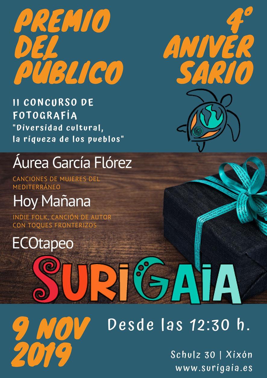 4º Aniversario y Premio del Público del II Concurso de Fotografía de SuriGaia