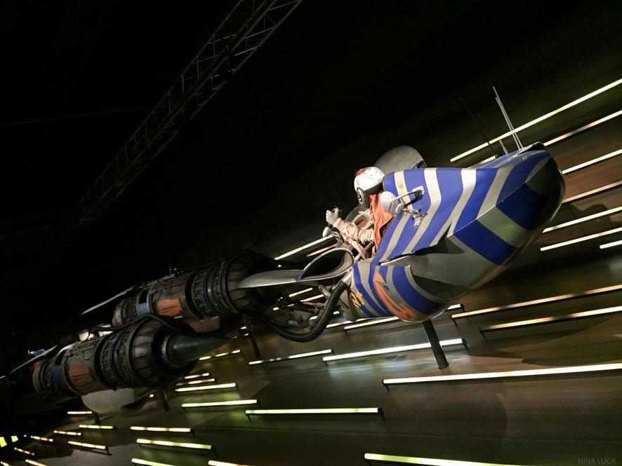 image: nina luca, star wars, star wars identities, star wars münchen, star wars exhibition, jedi, lightsaber, podracer, anakin skywalker, anakin, sith lord