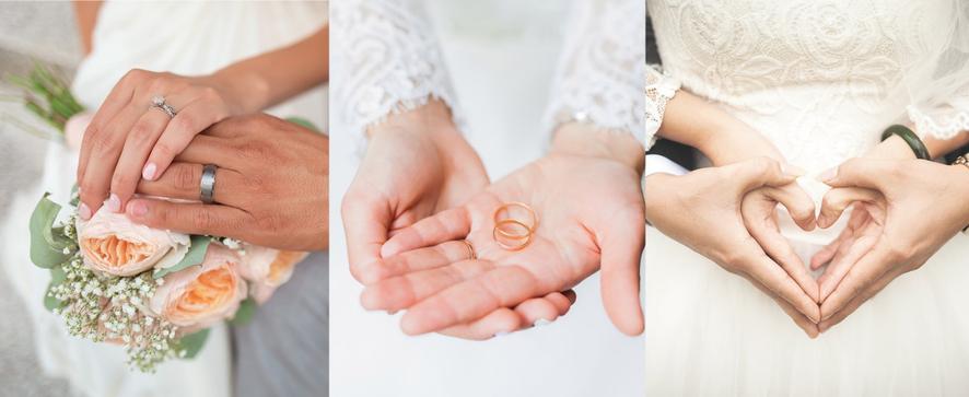 Infographie : les Français et le mariage en 2019 - Crédit photos : Unsplash / Pixabay