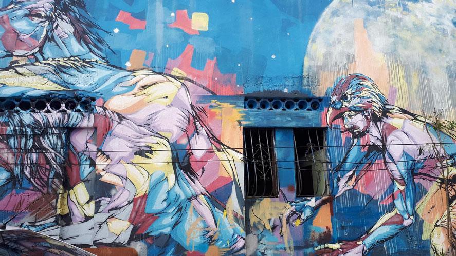 Wandmalerei in La Atarazana