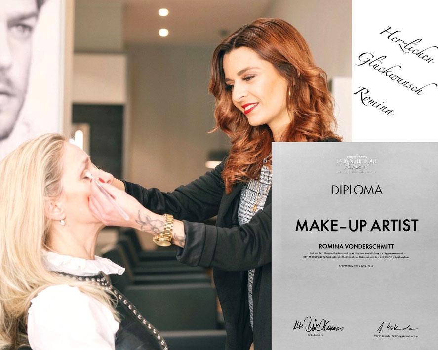 Romina Make-up Artist Diploma