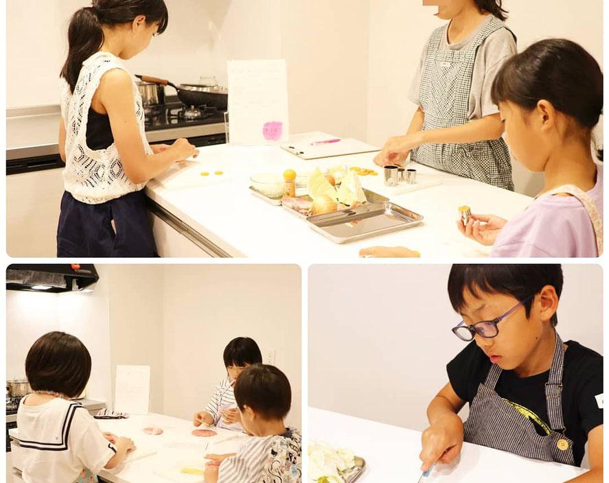 新宿区にある 子供 料理教室 エムズ レッスン